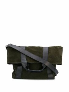 Ann Demeulemeester contrast shoulder bag - Green