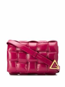 Bottega Veneta Cassette crossbody bag - Pink
