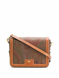 Etro paisley pattern shoulder bag - Brown