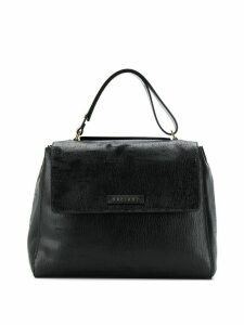 Orciani creased tote bag - Black