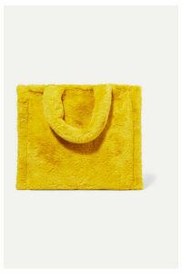 Stand Studios - Lolita Faux Fur Tote - Yellow