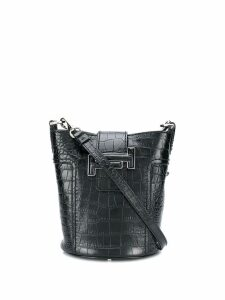 Tod's Small Double T bucket bag - Black