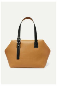 Loewe - Cube Two-tone Leather Tote - Tan