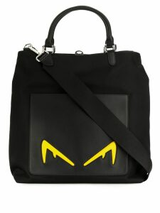 Fendi Diabolic Eyes tote bag - Black