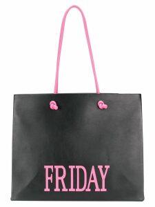 Alberta Ferretti Friday shopper bag - Black