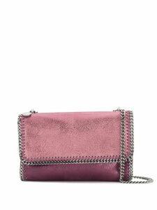 Stella McCartney Falabella metallic shoulder bag - Purple
