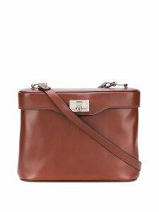 Rodo square shape shoulder bag - Brown