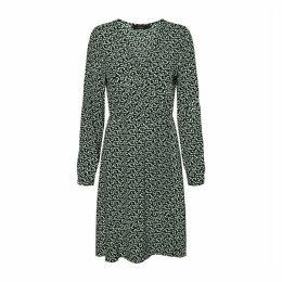 Flared Knee-Length Dress