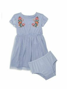 Baby Girl's 2-Piece Dress & Bloomers Set