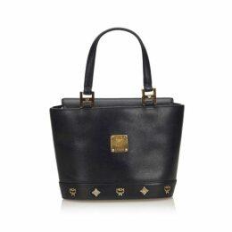 MCM Black Leather Handbag