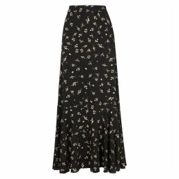 Free People Ruby's Forever Floral-print Maxi Skirt
