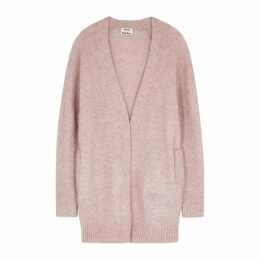 Acne Studios Pink Knitted Cardigan