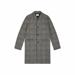 Jigsaw Coventry Reversible Check Coat