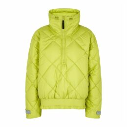 Adidas X Stella McCartney Lime Quilted Shell Jacket