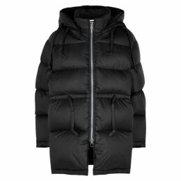 Acne Studios Black Quilted Shell Jacket