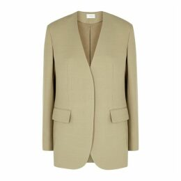 THE ROW Murray Stone Wool-blend Jacket