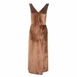 Vince Velvet Midi Dress