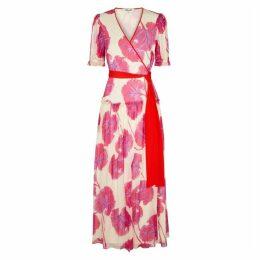 Diane Von Furstenberg Breeze Floral-print Silk Maxi Dress