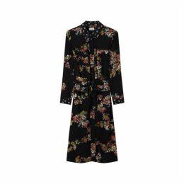 Jigsaw Hydrangea Print Utility Dress