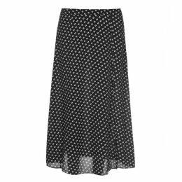 MICHAEL Michael Kors MMK Slit Front Skirt Ld93