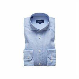 Eton Soft Light Blue Royal Oxford Shirt - Slim Fit