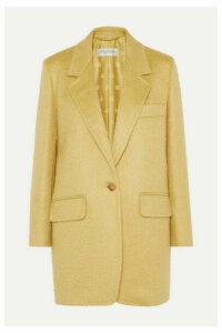 Max Mara - Canga Mohair-blend Blazer - Yellow