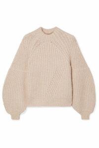 Ulla Johnson - Lucille Ribbed Alpaca-blend Sweater - Beige