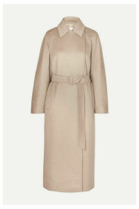 Max Mara - Jago Belted Cashmere And Wool-blend Coat - Beige