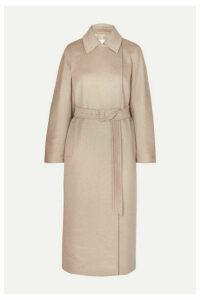 Max Mara - Jago Belted Cashmere And Wool-blend Coat - Beige