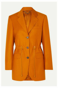 Salvatore Ferragamo - Wool And Silk-blend Blazer - Orange