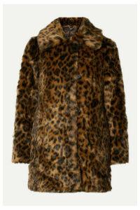 J.Crew - Leopard-print Faux Fur Coat - Leopard print
