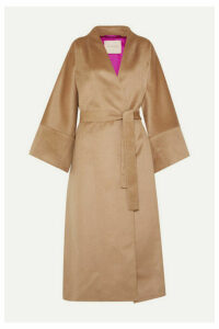 Roksanda - Larisa Belted Wool-blend Coat - Camel