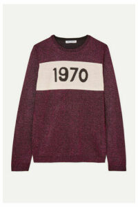 Bella Freud - 1970 Metallic Wool-blend Sweater - Pink