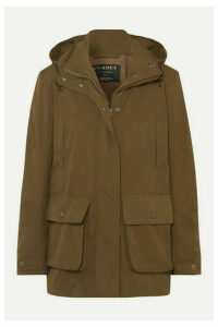 James Purdey & Sons - Woodcock Hooded Shell Jacket - Green
