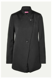 GAUGE81 - Satin Blazer - Black