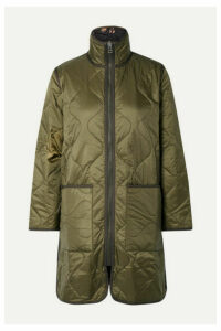 Madewell - Reversible Quilted Ripstop And Shell Jacket - Army green