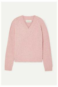 Mansur Gavriel - Alpaca-blend Sweater - Pastel pink
