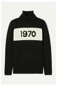Bella Freud - 1970 Wool Turtleneck Sweater - Black