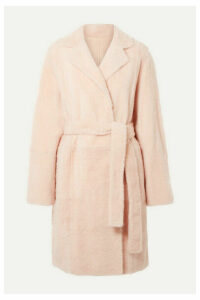 Yves Salomon - Reversible Shearling Coat - Blush