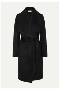MICHAEL Michael Kors - Wool-blend Wrap Coat - Black