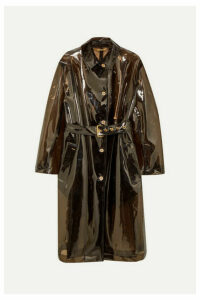 Versace - Pvc Trench Coat - Black