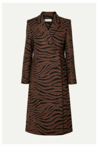 Beaufille - Didion Animal-jacquard Coat - Zebra print