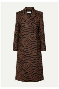 Beaufille - Didion Animal-jacquard Coat - Zebra print