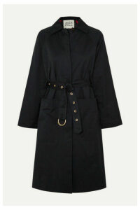 Alex Mill - Channel Belted Cotton-blend Gabardine Trench Coat - Navy