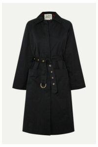 Alex Mill - Channel Belted Cotton-blend Gabardine Trench Coat - Navy