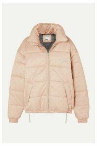 GmbH - Debs Oversized Padded Wool-blend Jacquard Jacket - Beige