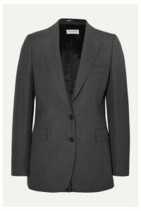 Dries Van Noten - Blest Pinstriped Wool Blazer - Dark gray
