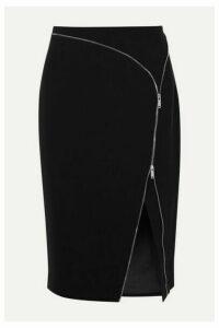 Altuzarra - Peck Zip-embellished Cady Midi Skirt - Black