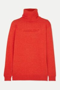 AMBUSH® - Wool-blend Turtleneck Sweater - Orange