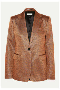 Dries Van Noten - Barbilar Lamé Blazer - Camel